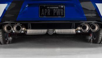 APR MK7 Golf R 和 S3 中尾段排氣管!